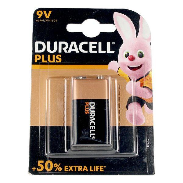 Alkaline Battery Plus Power DURACELL 6LR61/MN1604 9V