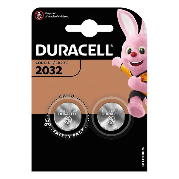 Lithium Button Cell Battery DURACELL DRB20322 (2 uds)