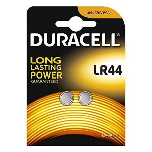 Pilas de Botón Alcalinas DURACELL DRBLR442 LR44 1.5V (2 pcs)