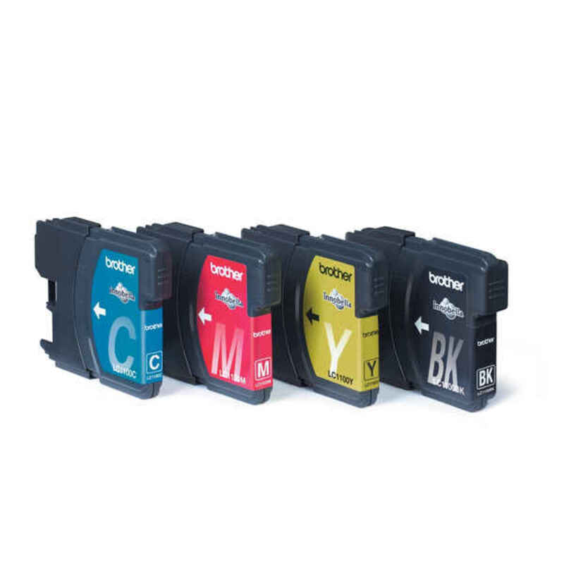 Compatible Ink Cartridge Brother LC1100VALBP Multicolour