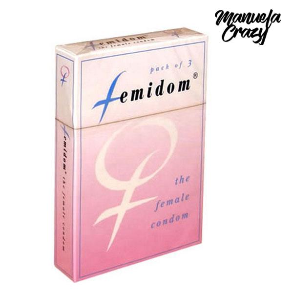 Preservativo Femenino (3 uds) Manuela Crazy E20743