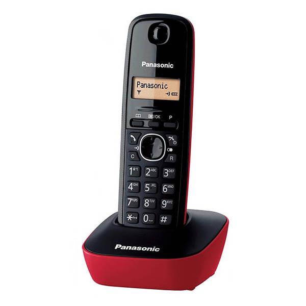 Teléfono Inalámbrico Panasonic KX-TG1611SPR Rojo