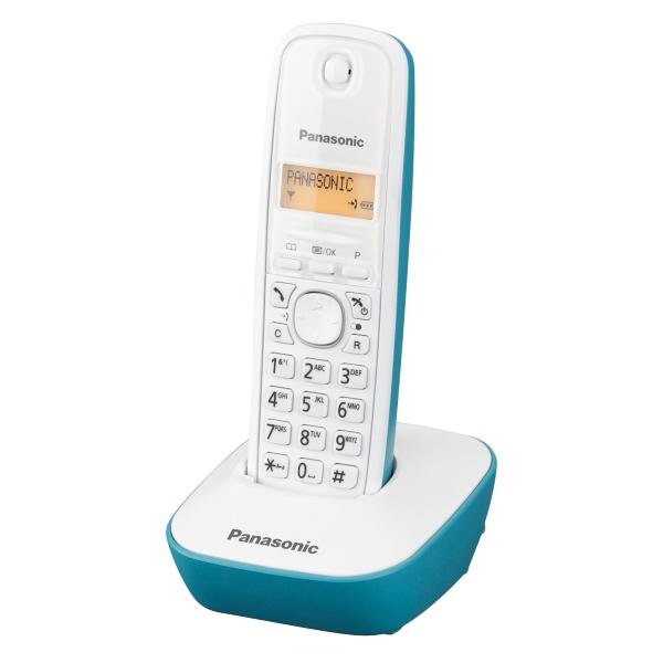 Teléfono Inalámbrico Panasonic Corp. KX-TG1611SPC DECT Blanco