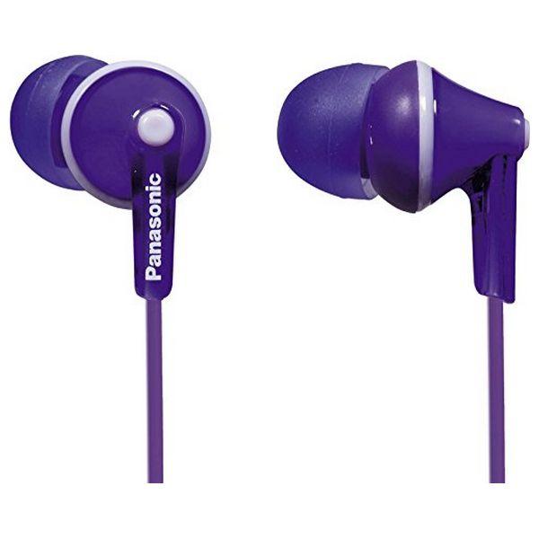 Headphones Panasonic RP-HJE125E in-ear Violet