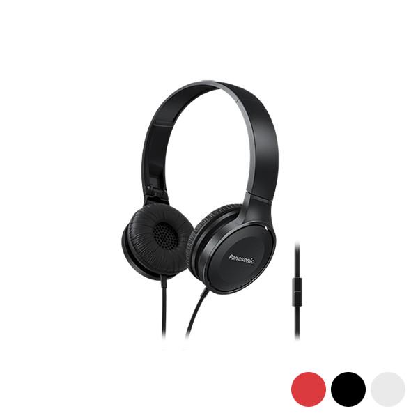 Auriculares con Micrófono Panasonic Corp. RP-HF100ME (3.5 mm)