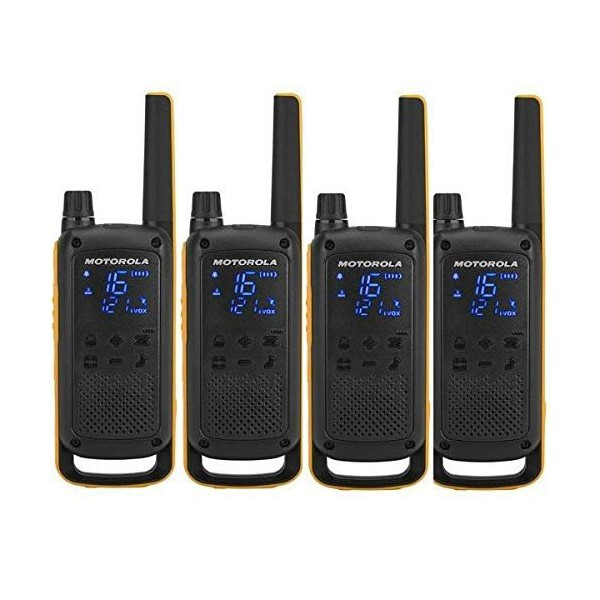 Walkie-Talkie Motorola T82 Extreme (4 Pcs) Black Yellow