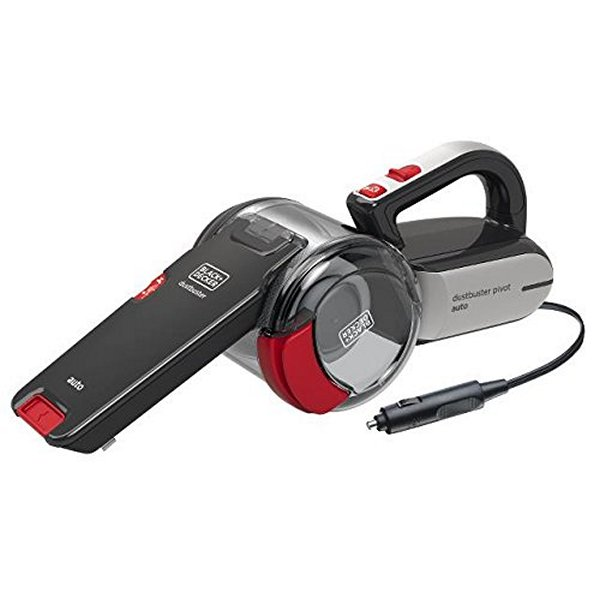 Cyclonic Hand-held Vacuum Cleaner Black & Decker PV1200AV 12,5 W 0,44 L Black Red