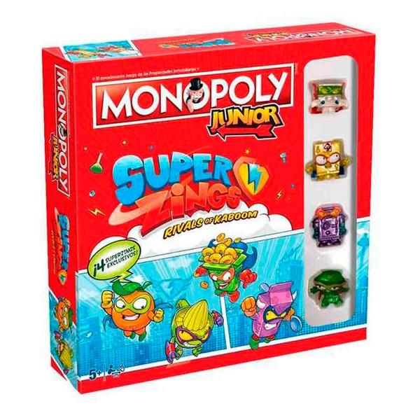 Juego de Mesa Monopoly Junior SuperZings (ES)