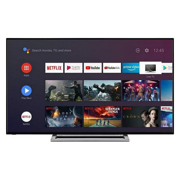 "Smart TV Toshiba 58UA3A63DG 58"" 4K Ultra HD DLED WiFi Negro"