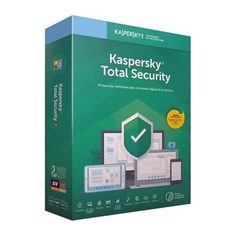 Antivirus Kaspersky Total Security 2020 5 licences (Refurbished A+)