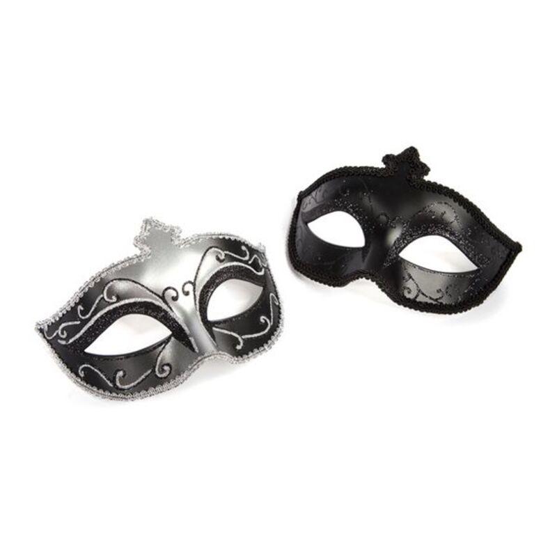 Masquerade Mask Twin Pack Fifty Shades of Grey 9337 (2 pcs)
