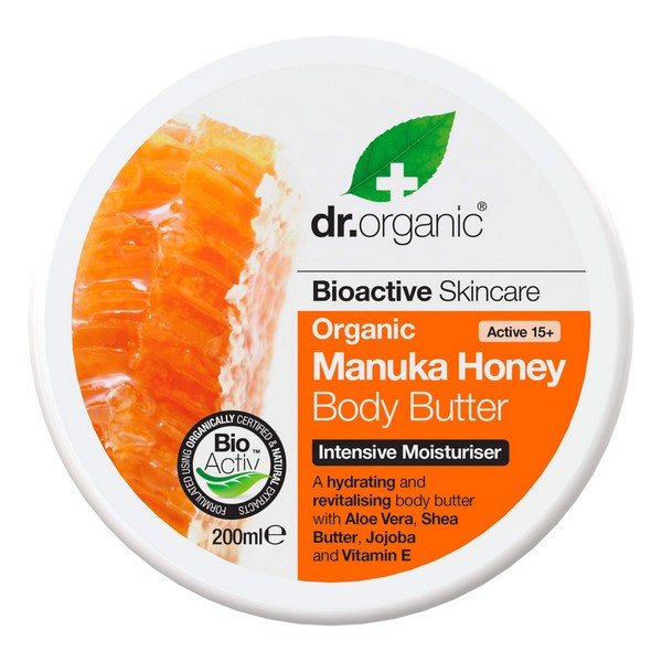 Body Cream Manuka Honey Dr.Organic (200 ml)
