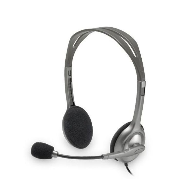 Headphones with Microphone Logitech H110 2 x Jack 1,4 m