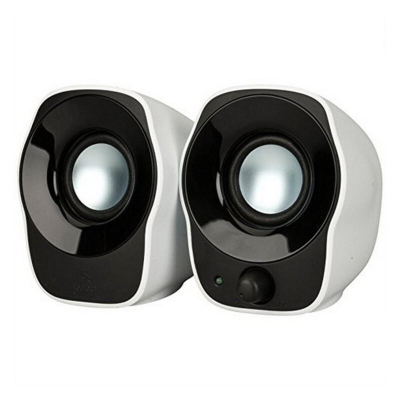 Speakers Logitech Z120 1,2W Black Silver