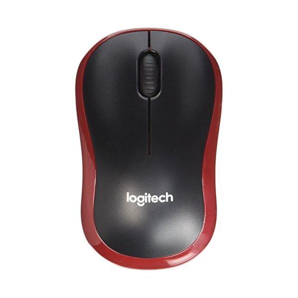 Logitech Ratón Inalámbrico M185 Rojo (4)