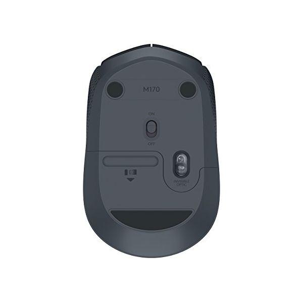 Ratón Inalámbrico Logitech M171 1000 dpi Negro (2)