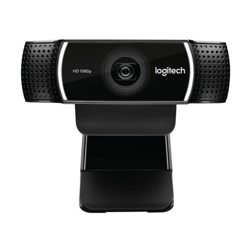 Webcam Logitech C922 HD 1080p Streaming Tripode Negro