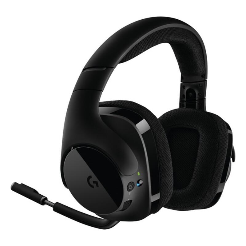 Auriculares con Micrófono Gaming Logitech 981-000634 Negro