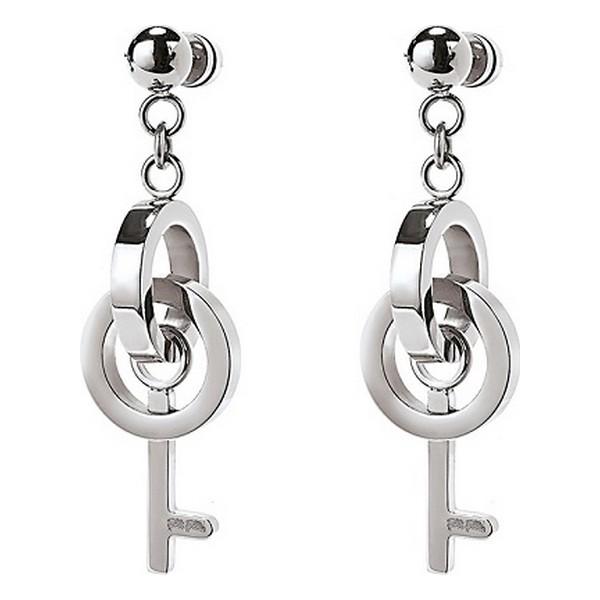 Ladies'Earrings Folli Follie 1E18F017 (4 cm)