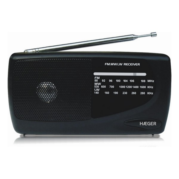 Radio AM/FM Haeger Handy