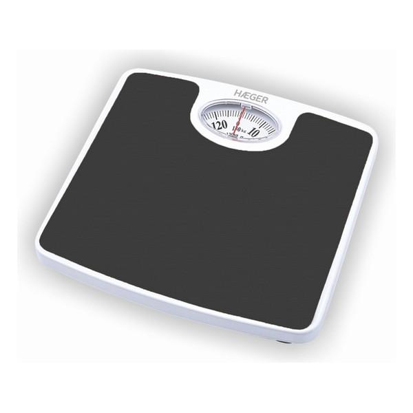 Analogue Scales Haeger Black/White 130 KG