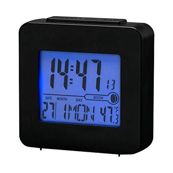 Radio Despertador Denver Electronics REC-34 Negro
