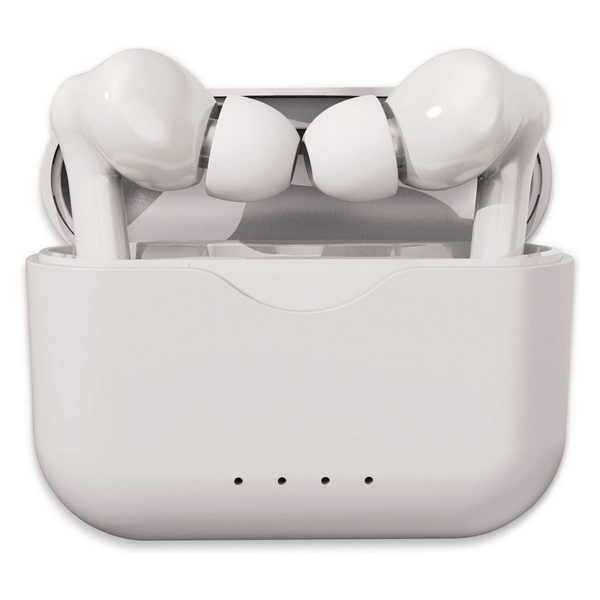 Bluetooth Headphones Denver Electronics TWE-37 300 mAh White
