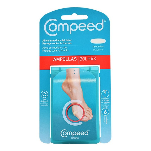 Anti-Blisters for Feet Compeed (6 uds)