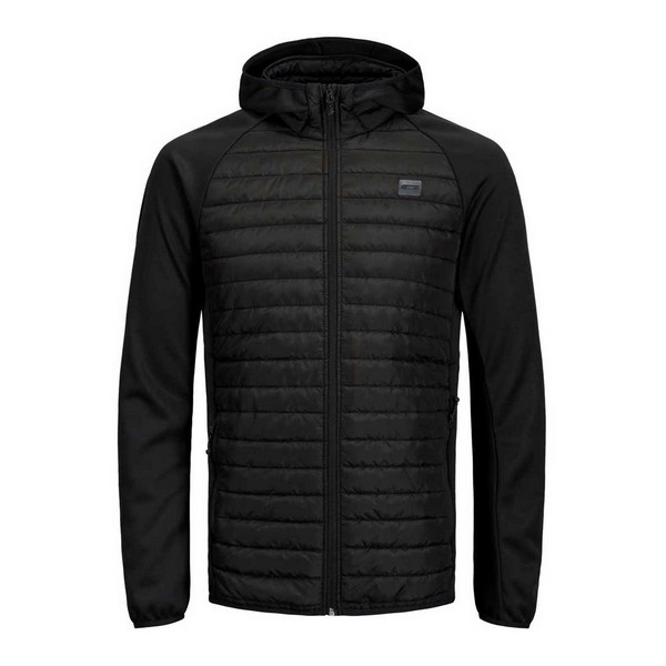 Men's Sports Jacket Jack & Jones Quilted Black