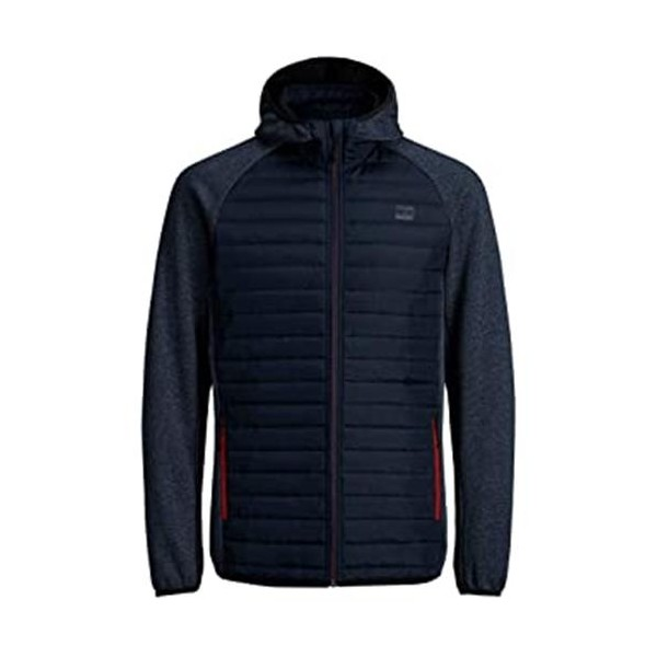 Men's Sports Jacket Jack & Jones Quilted Navy Blue