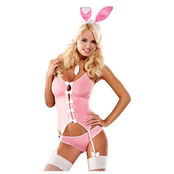 Bunny Suit Costume S/M Obsessive E24001