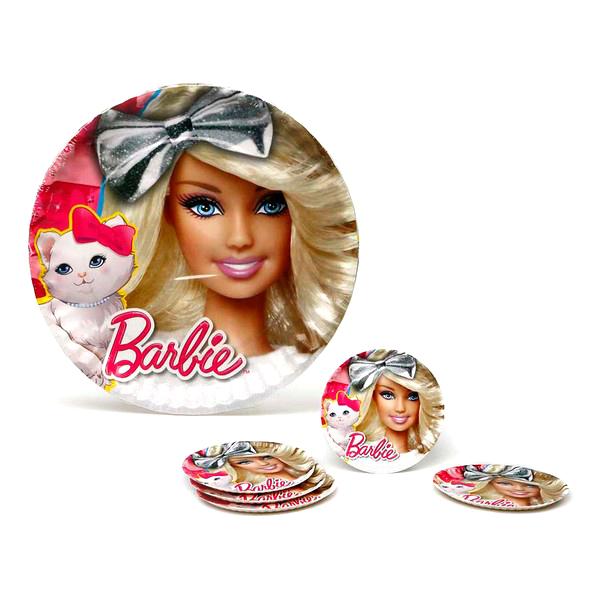 Set de platos Barbie (5 Pcs) (ø 23 cm)