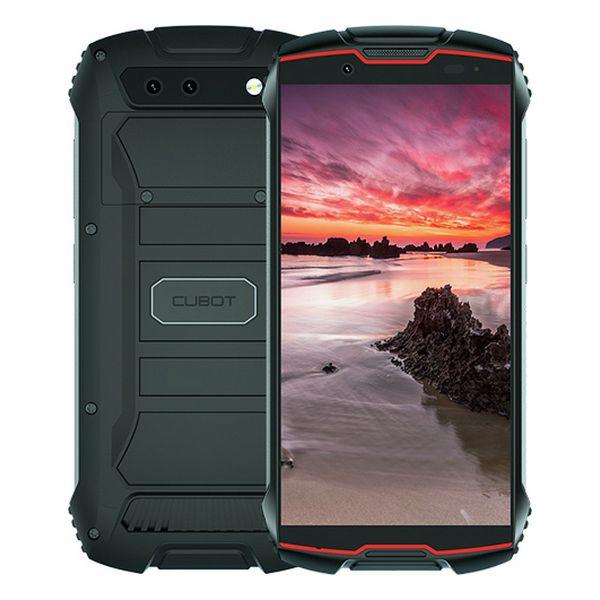 "Smartphone Cubot King Kong Mini 4"" Quad Core 3 GB RAM 32 GB Negro Rojo"