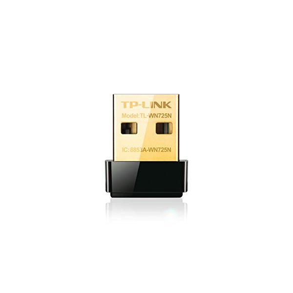 Wi-Fi Adapter TP-LINK Nano TL-WN725N 150N WPS USB Black