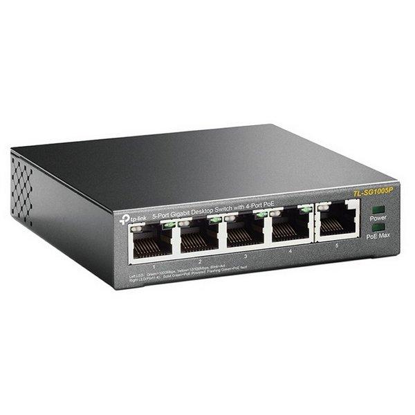 Switch de Sobremesa TP-Link SG1005P LAN PoE Gris