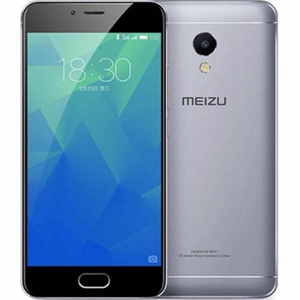 "Smartphone Meizu M5S 5,2"" IPS LCD Octa Core 1.3 GHz 16 GB 2 GB RAM 4G 3000 mAh Negro Gris"