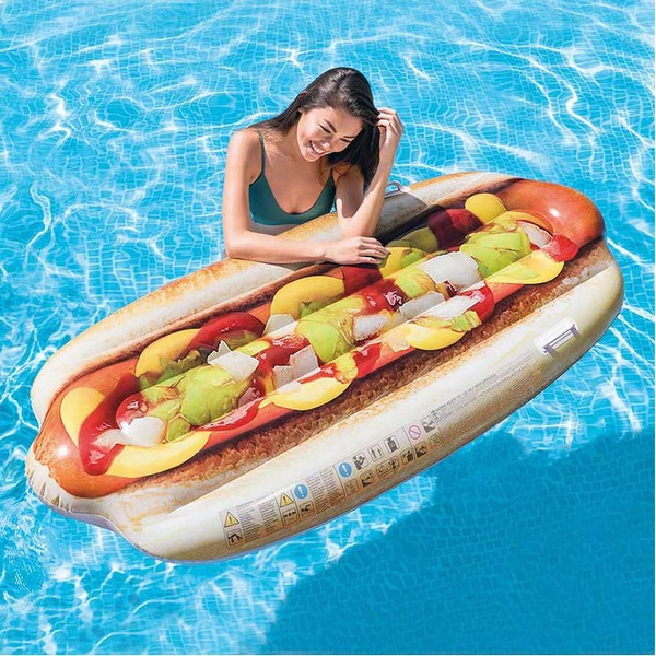 Air mattress Intex Hot dog (180 X 89 cm)