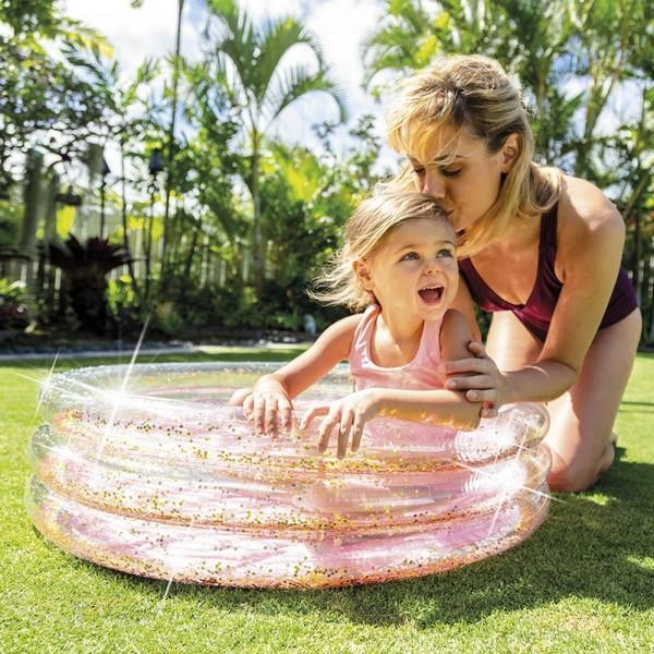 Children's pool Glitter Intex 56 L (86 x 25 cm)