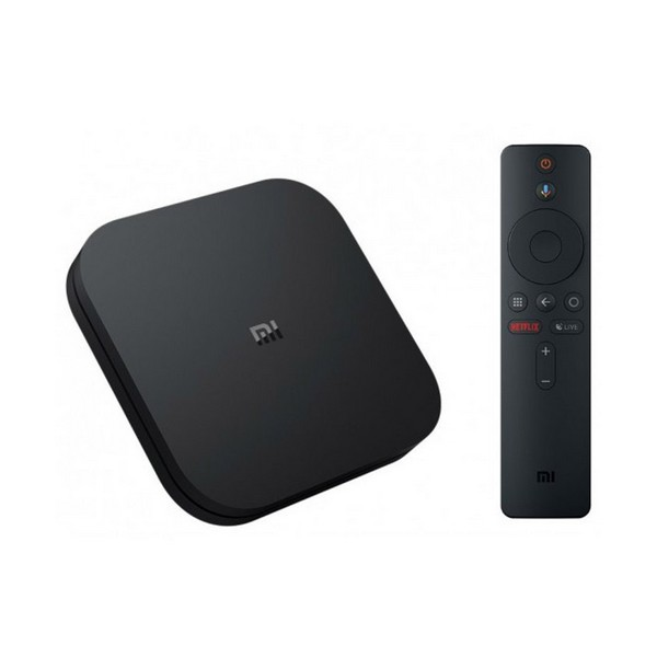 REPRODUCTOR TV XIAOMI MI TV BOX 4K QUAD CORE 2 GB RAM 8 GB NEGRO