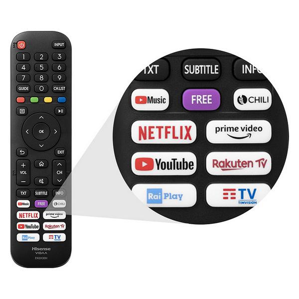 "Smart TV Hisense 55A7500F 55"" 4K Ultra HD DLED WiFi Gris (1)"