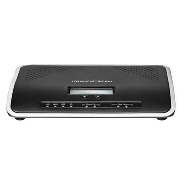 Centralita IP Grandstream UCM6202 2FXS 2FXO USB SD Negro
