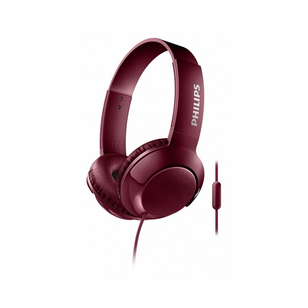Slúchadlá s mikrofónom Philips SHL3075/10 BASS+ 40 mW (3.5 mm)