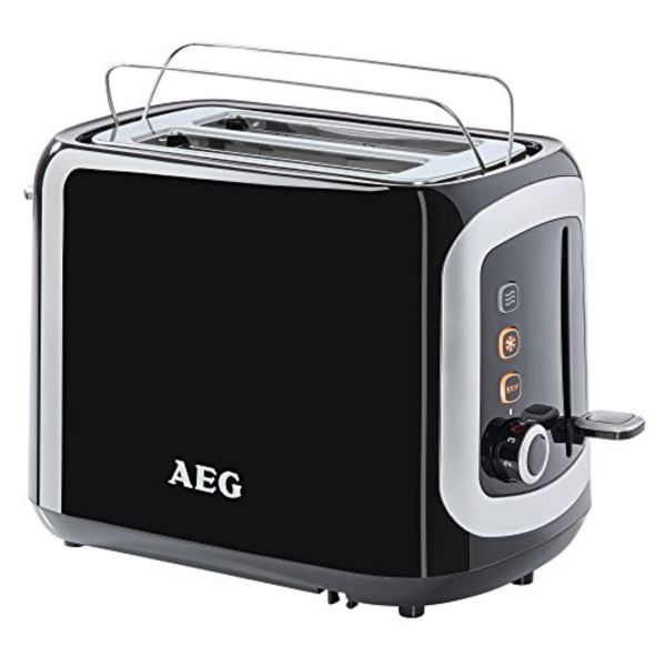Toaster Aeg AT3300 940W Črna