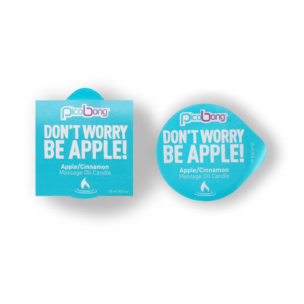Apple & Cinnamon Massage Oil Candle PicoBong 7014