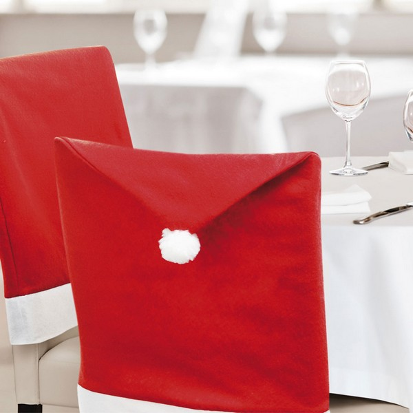 Chair Cover Father christmas hat (50 X 62 cm) 144260