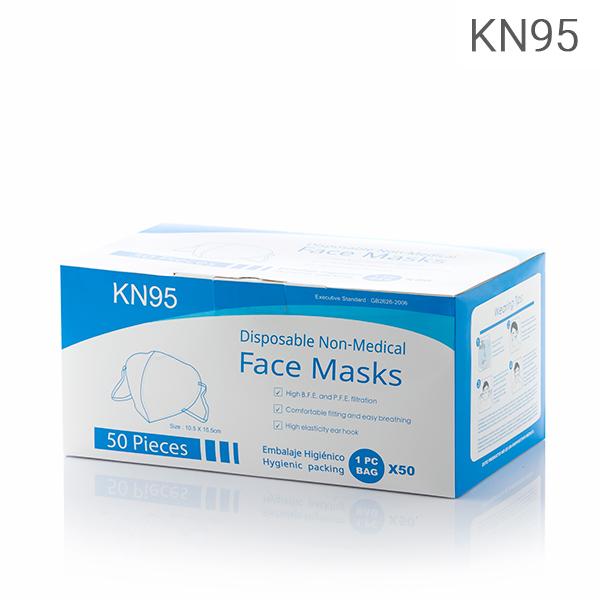 Mascarilla Autofiltrante de 5 Capas KN95 (Pack de 50) (4)