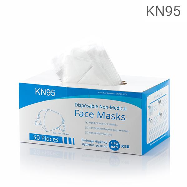 Mascarilla Autofiltrante de 5 Capas KN95 (Pack de 50) (3)