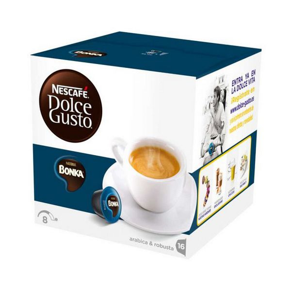 Coffee Capsules Nescafé Dolce Gusto 13758 Espresso Bonka (16 uds)