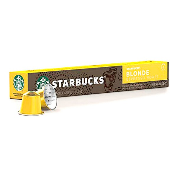 Cápsulas de Café Starbucks Blonde (10 uds)