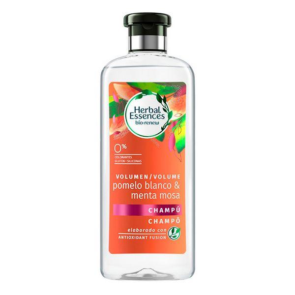 Šampon za povečanje volumna las Bio Volumen Pomelo Blanco & Menta Mosa Herbal (400 ml)